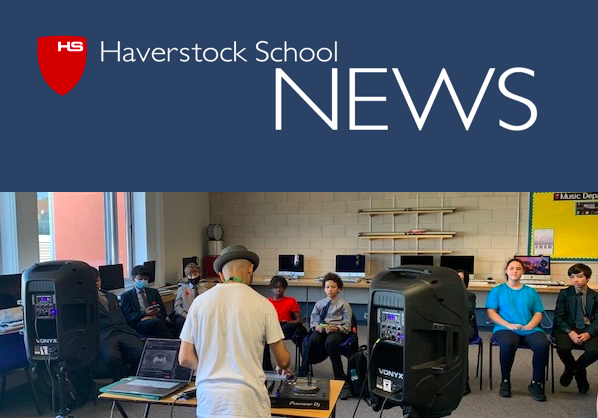 Haverstock School Music students enjoy a Masterclass with DJ Youssef