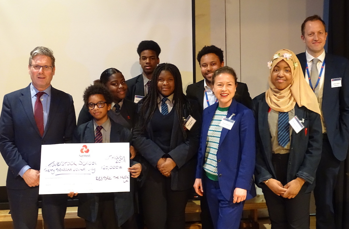 Haverstock school camden launches 100k music fund march 2019