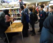 Haverstock school camden wbd 2019 library
