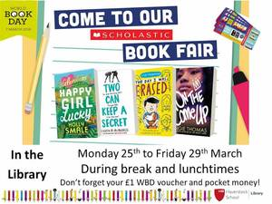 Haverstock school camden world book day 2019 book fair