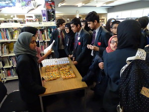 Haverstock school camden world book day 2019 cupcake choices