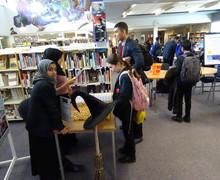 Haverstock school camden world book day 2019 library