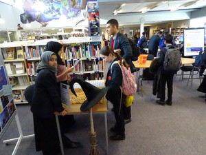 Haverstock school camden world book day 2019 library