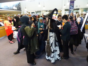 Haverstock school camden world book day 2019 witch in library