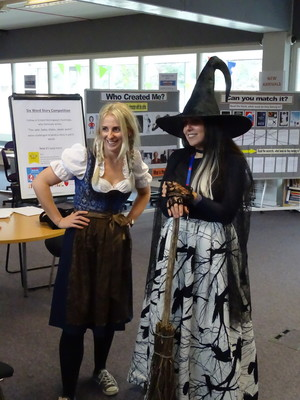 Haverstock school camden world book day march 2019 staff costumes