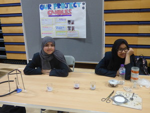 Haverstock school camden science fair candles project