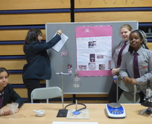 Haverstock school camden science fair displays