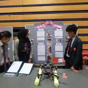 Haverstock school camden science fair drone project