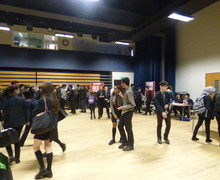 Haverstock school camden science fair a full hall