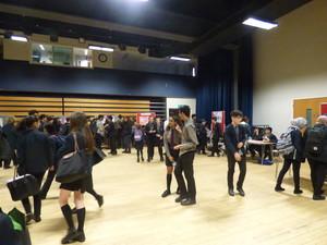 Haverstock school camden science fair a full hall