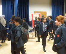Haverstock school camden science fair curious guests explore the displays