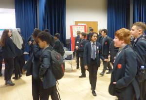 Haverstock school camden science fair curious guests explore the displays