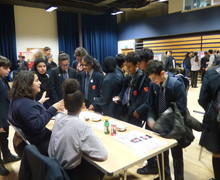 Haverstock school camden science fair explaining the science
