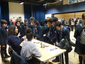 Haverstock school camden science fair explaining the science