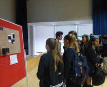 Haverstock school camden science fair interested visitors