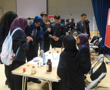 Haverstock school camden science fair lots of guests