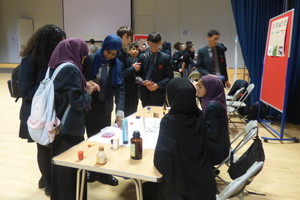 Haverstock school camden science fair lots of guests