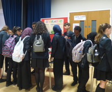 Haverstock school camden science fair students attend