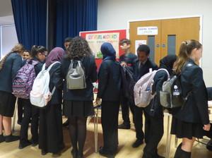 Haverstock school camden science fair students attend
