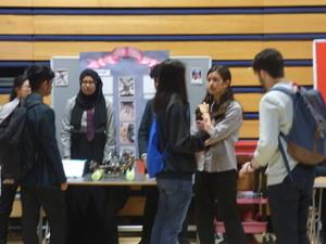 Haverstock school camden science fair with visitors