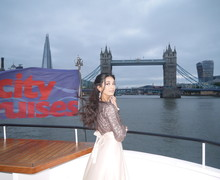 Haverstock school camden year 11 students on board a boat cruise on the thames for prom night 2019