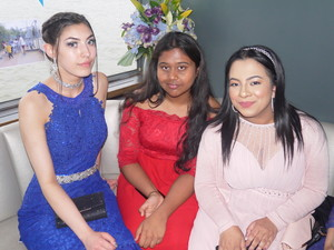 Haverstock school camden year 11 students on board a luxury riverboat cruise for their prom 2019