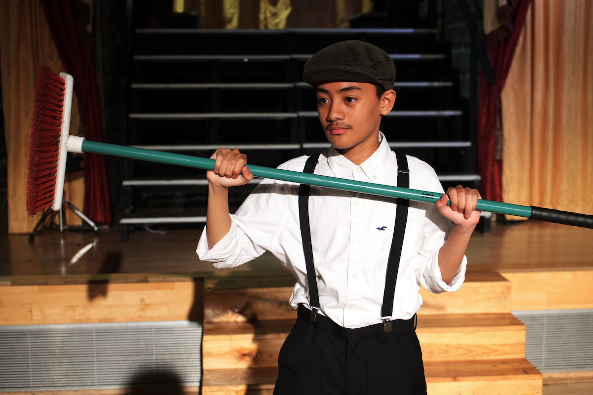 Bugsy malone summer production at haverstock school rated good by ofsted july 2019