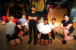 Haverstock school now rated good by ofsted in july 2019 students performing bugsy malone