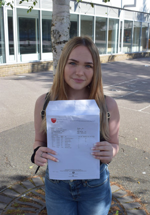 Haverstock students celebrate the school's best ever GCSE results, August 2019