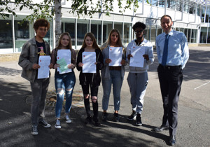Haverstock gcse students with head james hadley r 48602467692 o