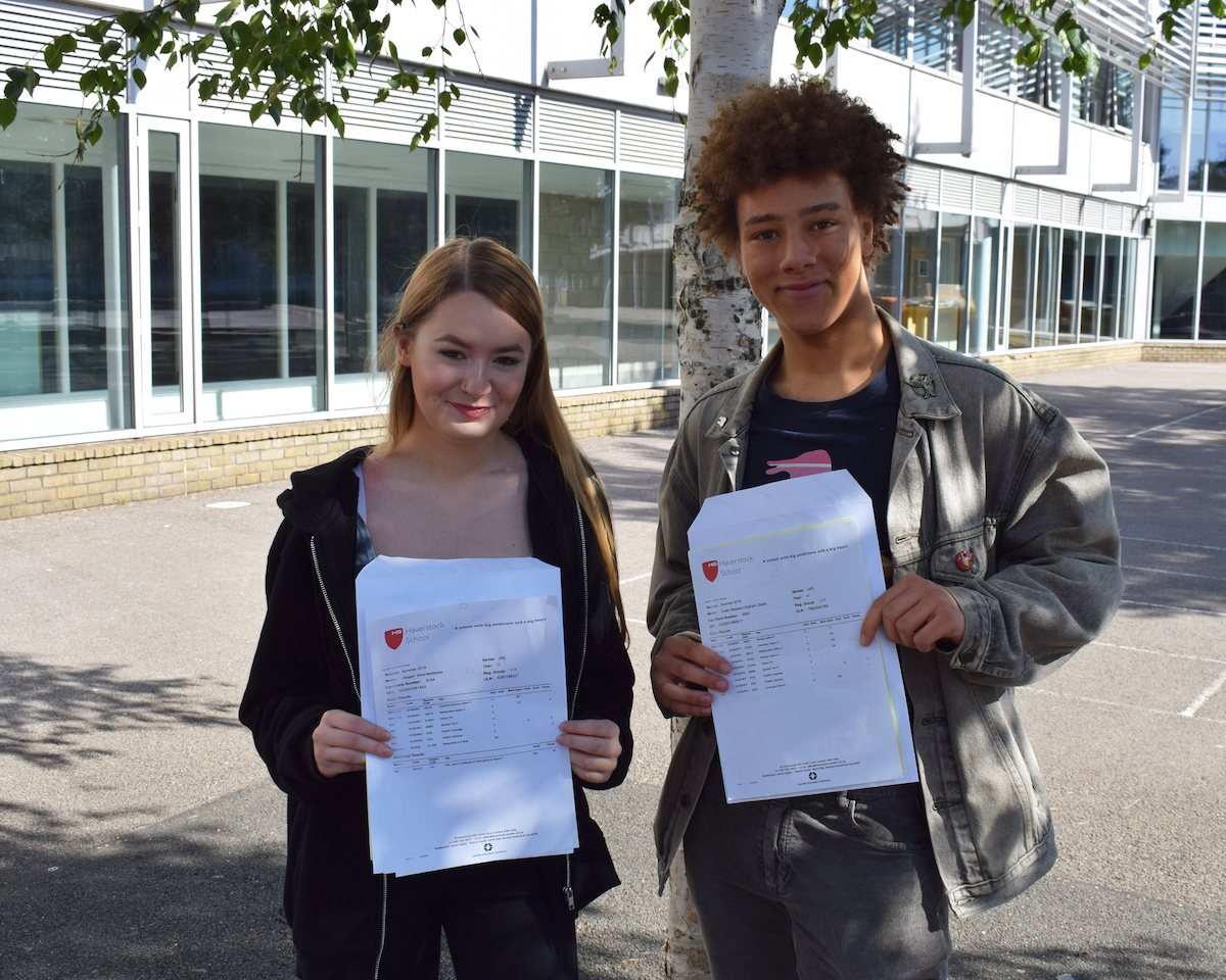 Haverstock gcse results day 2019