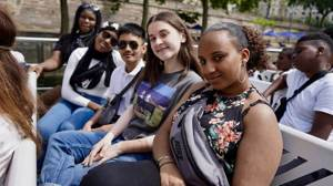 Haverstock school camden music students trip to paris july 2019 a boat trip on the seine 3