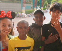 Haverstock school camden music students trip to paris july 2019 disneyland paris