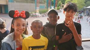 Haverstock school camden music students trip to paris july 2019 disneyland paris