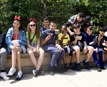Haverstock school camden music students trip to paris july 2019 students at disneyland paris