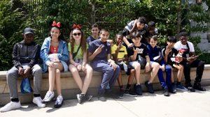 Haverstock school camden music students trip to paris july 2019 students at disneyland paris