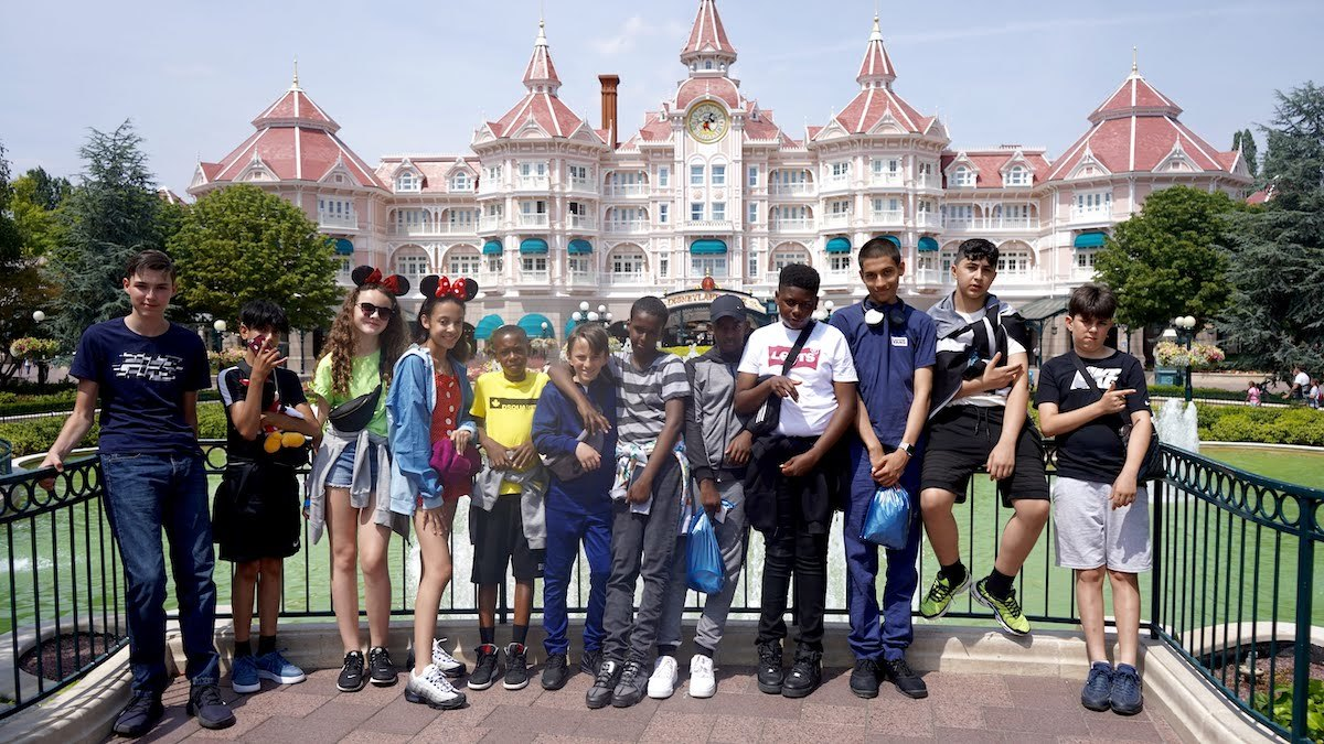 Haverstock school camden music students trip to paris july 2019 students visit disneyland paris