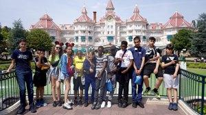 Haverstock school camden music students trip to paris july 2019 students visit disneyland paris