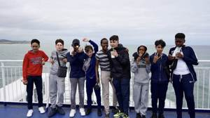 Haverstock school music students travel by ferry to paris july 2019