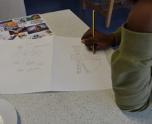 Haverstock school camden students create their own art works for the bronze arts award qualification
