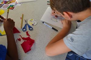 Haverstock school camden students create work for the bronze arts award qualification