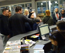 Haverstock secondary school camden open evening for year 7 admissions families visiting our school library october 2019