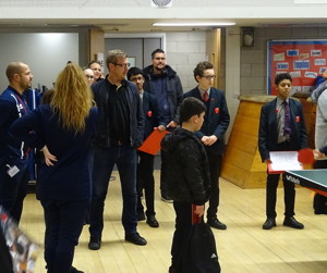 Haverstock secondary school camden open evening for year 7 admissions students ready to give tours of the school october 2019