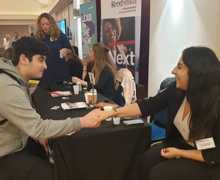 Haverstock sixth form camden london sixth form students visit social mobility careers fair october 2019 3