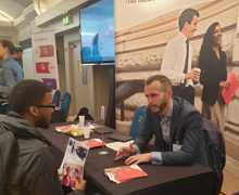 Haverstock sixth form camden london sixth form students visit social mobility careers fair october 2019 4