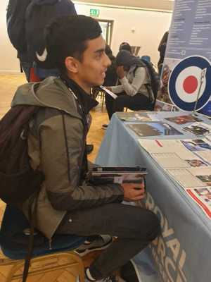 Haverstock sixth form camden london sixth form students visit social mobility careers fair october 2019 6