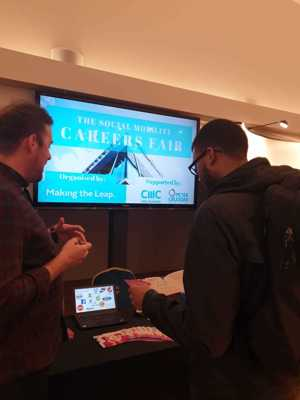 Haverstock sixth form camden london sixth form students visit social mobility careers fair october 2019 7