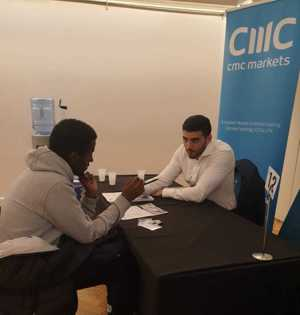 Haverstock sixth form camden london sixth form students visit social mobility careers fair october 2019 8