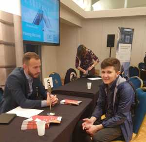 Haverstock sixth form camden london sixth form students visit social mobility careers fair october 2019 9