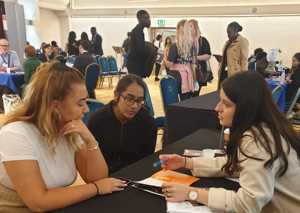 Haverstock sixth form camden london sixth form students visit social mobility careers fair october 2019 10